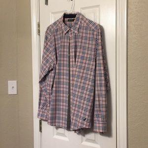 Nautica plaid shirt